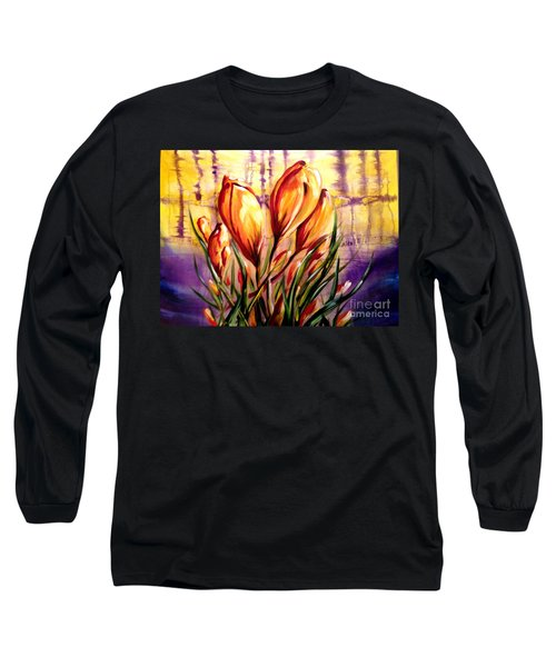 First Blooms Of Spring Long Sleeve T-Shirt