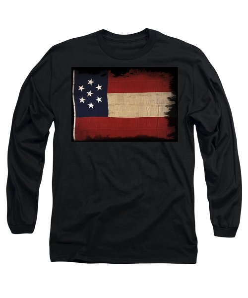 First Confederate Flag Long Sleeve T-Shirt