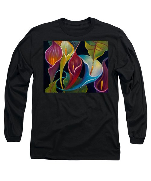 First Flight 2 Long Sleeve T-Shirt by Claudia Goodell