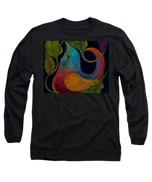 First Flight 3 Long Sleeve T-Shirt by Claudia Goodell