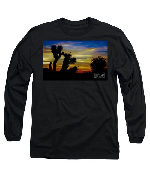 First Light Long Sleeve T-Shirt by Angela J Wright