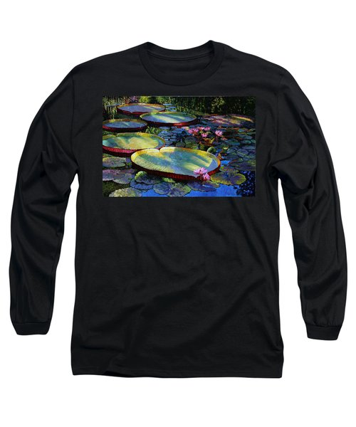 First Morning Light Long Sleeve T-Shirt by John Lautermilch