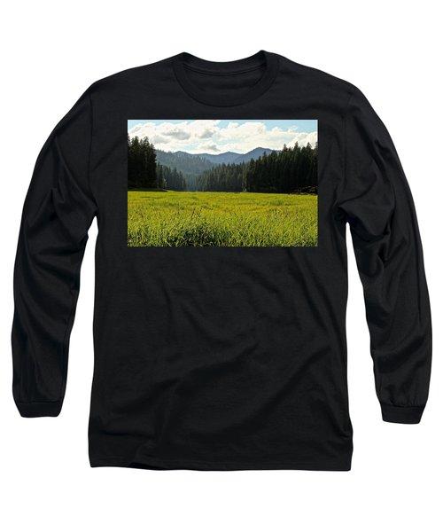 Fish Lake - Open Field Long Sleeve T-Shirt