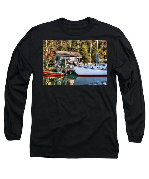 Fish Shack And Invictus Original Long Sleeve T-Shirt