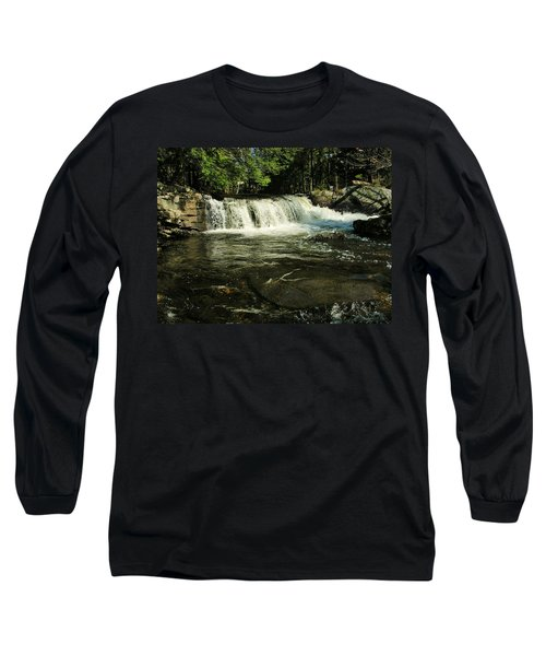 Long Sleeve T-Shirt featuring the photograph Fishing Hole by Sherman Perry