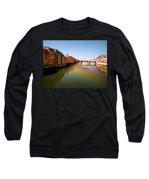 Fiume Di Sogni Long Sleeve T-Shirt by Micki Findlay