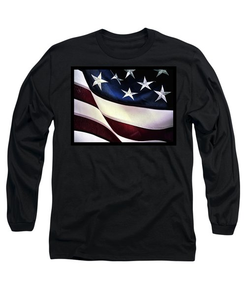 Flag Spotting At The Va Long Sleeve T-Shirt