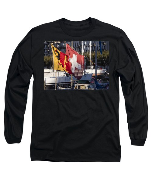 Flags Long Sleeve T-Shirt
