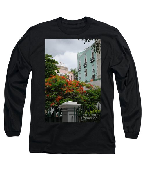 Flamboyan In Park Long Sleeve T-Shirt