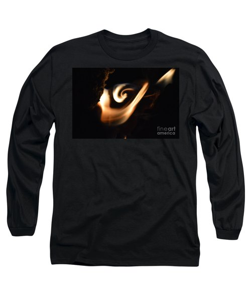 Long Sleeve T-Shirt featuring the photograph Flame Thrower by Brian Boyle