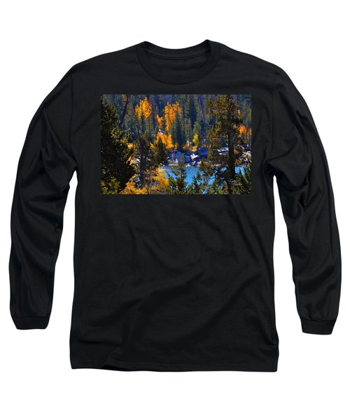 Flaming Aspens Long Sleeve T-Shirt