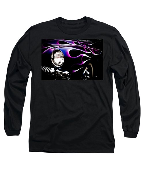 Flaming Classic Long Sleeve T-Shirt by Joann Copeland-Paul