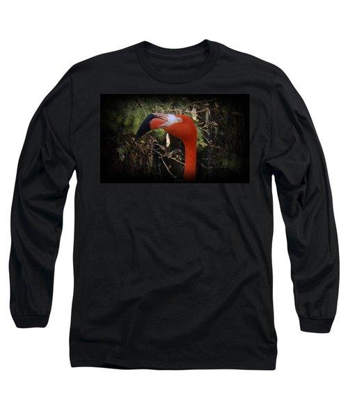 Flamingo Profile Long Sleeve T-Shirt