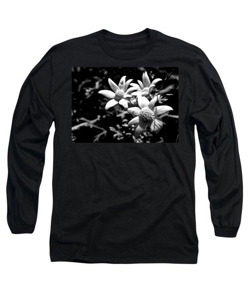 Flannel Flower Long Sleeve T-Shirt by Miroslava Jurcik