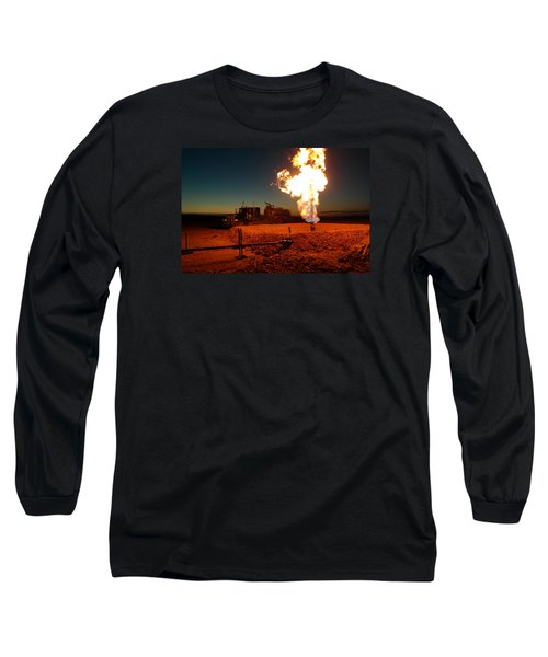 Flare And A Vacuum Truck Long Sleeve T-Shirt