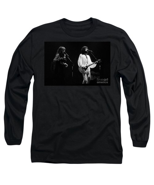 Fleetwood Mac In Amsterdam 1977 Long Sleeve T-Shirt