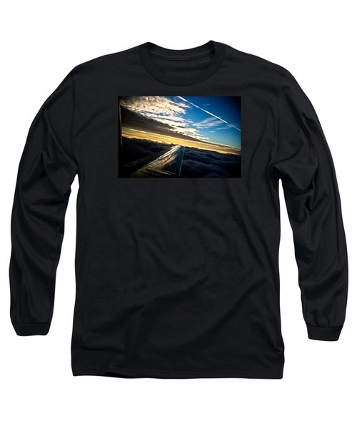 Flight 777 Long Sleeve T-Shirt by Joel Loftus