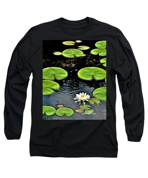 Floating Lily Long Sleeve T-Shirt