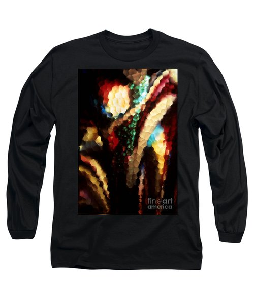 Floral Abstract I Long Sleeve T-Shirt by Sharon Elliott