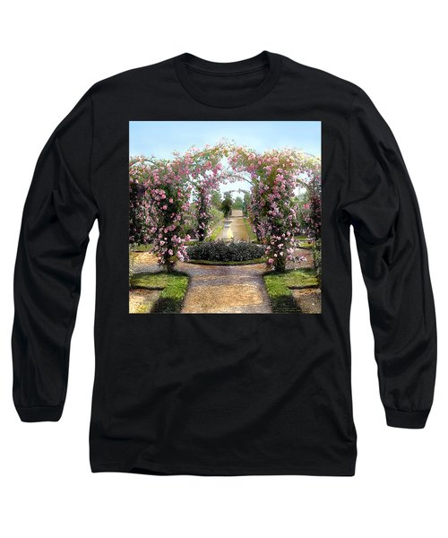 Floral Arch Long Sleeve T-Shirt