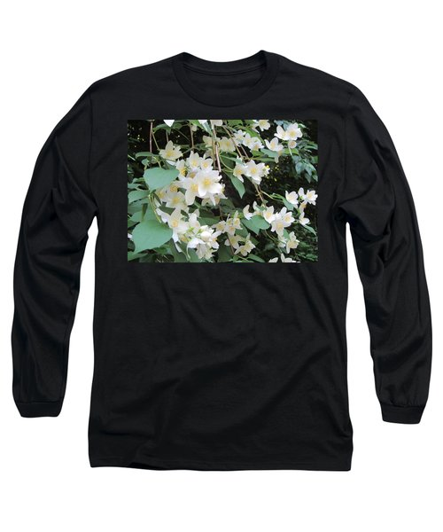 Floral Cascade Long Sleeve T-Shirt