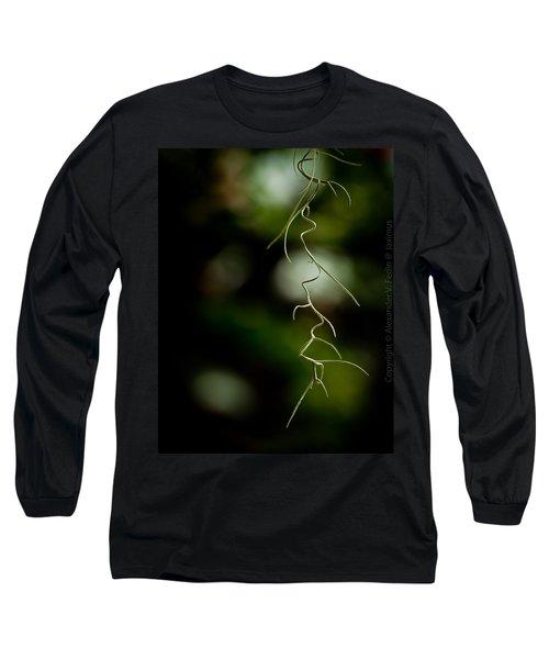 Floral Curves Long Sleeve T-Shirt