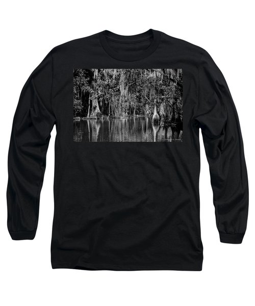 Florida Naturally 2 - Bw Long Sleeve T-Shirt by Christopher Holmes