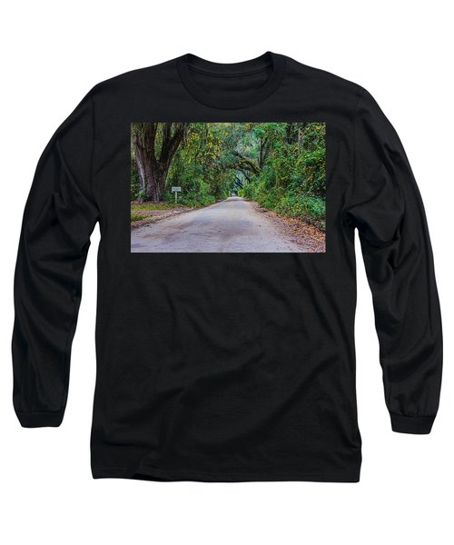 Florida Road Long Sleeve T-Shirt by Tom Culver