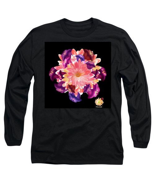 Flower Circle Long Sleeve T-Shirt