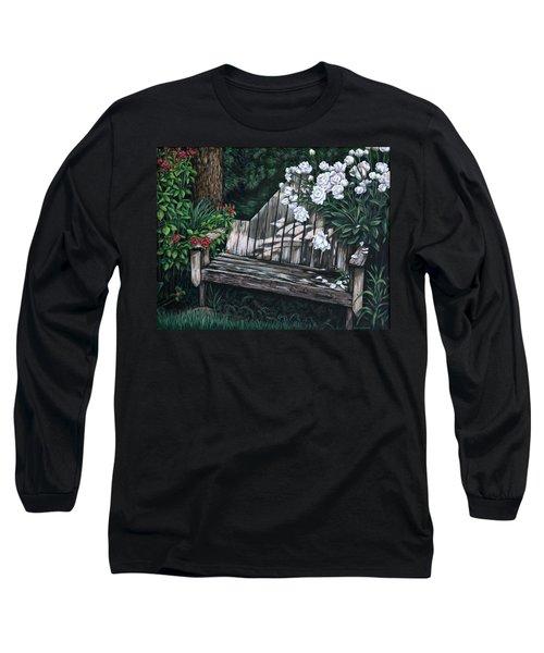 Flower Garden Seat Long Sleeve T-Shirt