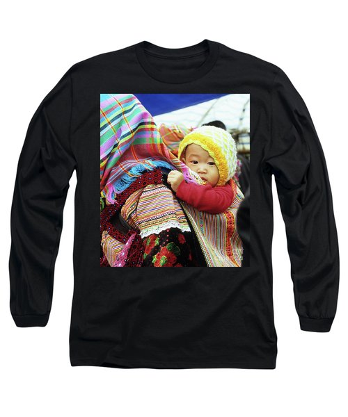 Flower Hmong Baby 04 Long Sleeve T-Shirt