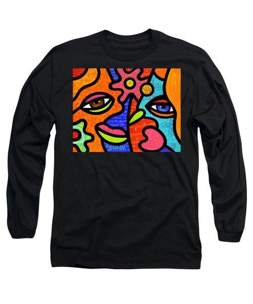 Flower Market Long Sleeve T-Shirt