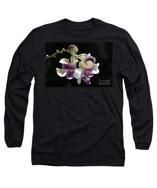 Flower-snail Flower Long Sleeve T-Shirt