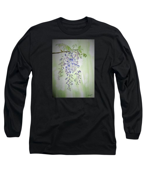 Flowering Wisteria Long Sleeve T-Shirt