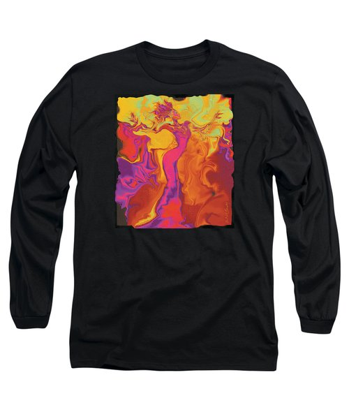 Flowerishing Dancer Long Sleeve T-Shirt