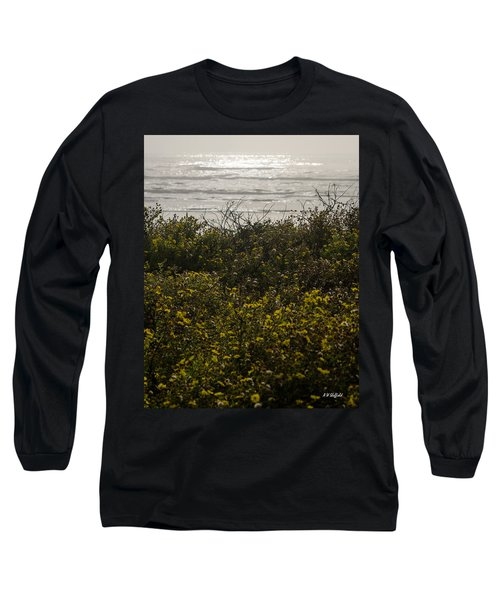 Flowers And The Sea Long Sleeve T-Shirt
