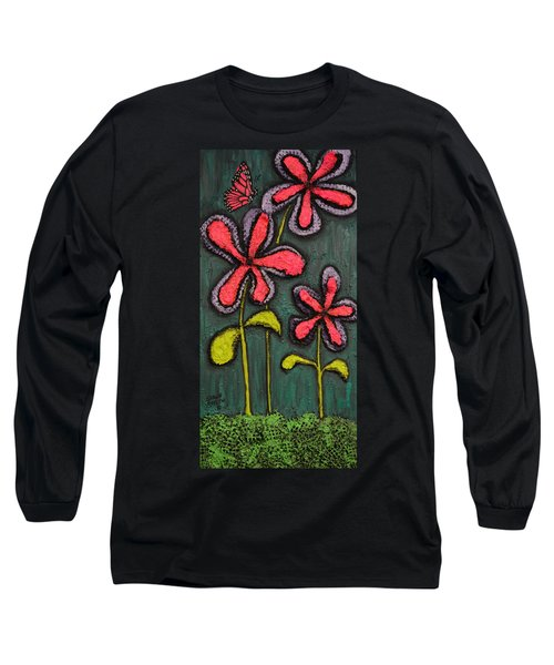 Flowers For Sydney Long Sleeve T-Shirt by Shawn Marlow