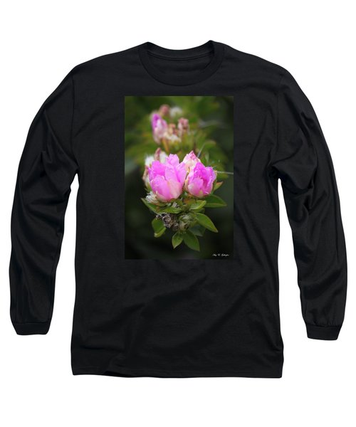 Long Sleeve T-Shirt featuring the photograph Flowers For You by Amy Gallagher