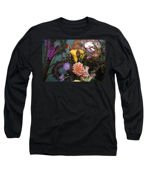 Flowers From My Window Long Sleeve T-Shirt