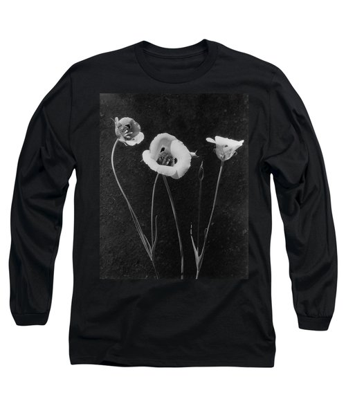 Flowers In Louise Beebe Wilder's Garden Long Sleeve T-Shirt