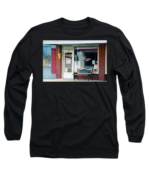 Floyd's Barber Shop Nc Long Sleeve T-Shirt
