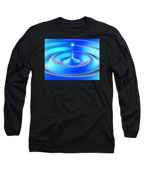 Long Sleeve T-Shirt featuring the digital art Fluidum 1 by Andreas Thust