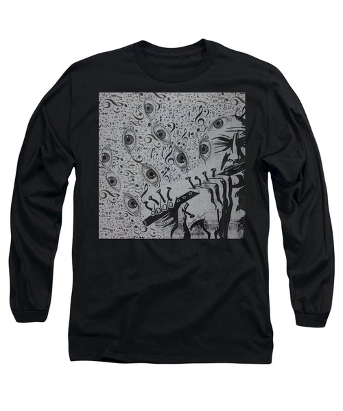 Flute Concerto In Eye Minor Long Sleeve T-Shirt by Douglas Fromm