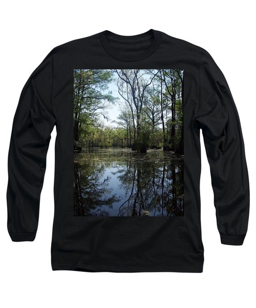 Flying Through The Mirror Long Sleeve T-Shirt
