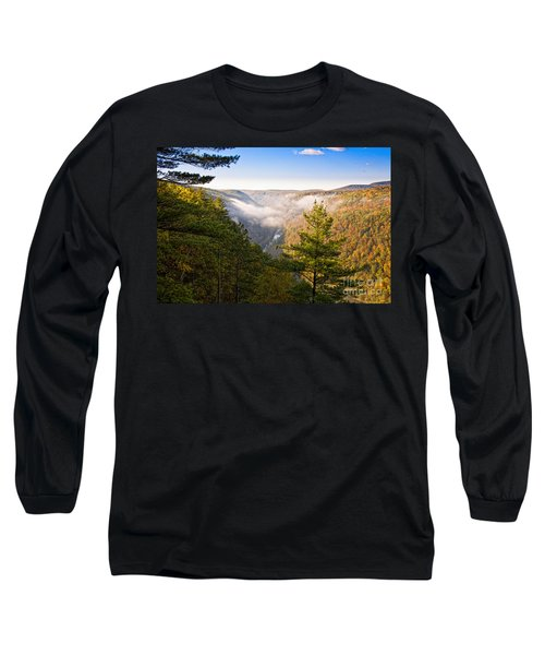 Fog Over The Canyon Long Sleeve T-Shirt