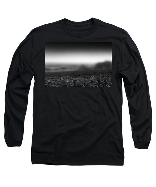 Foggy Field Long Sleeve T-Shirt