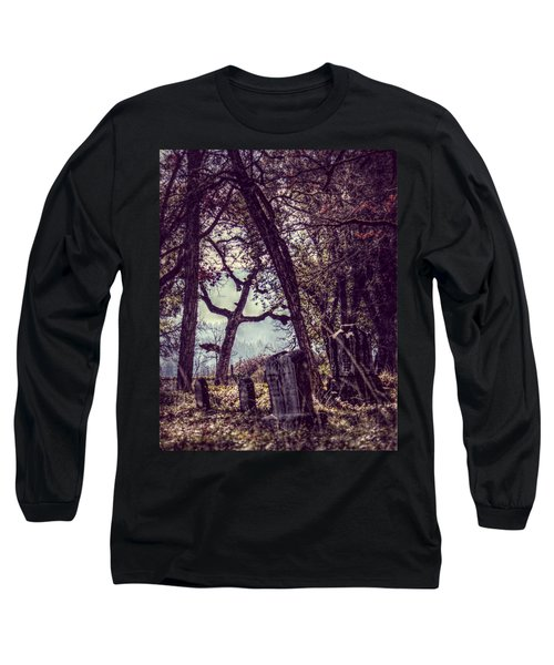 Long Sleeve T-Shirt featuring the photograph Foggy Memories by Melanie Lankford Photography