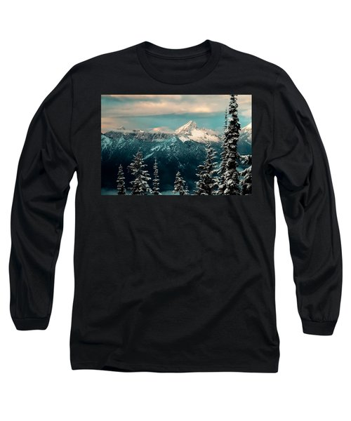 Foggy Mountain Long Sleeve T-Shirt