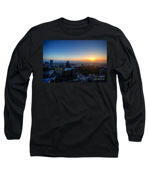 Foggy Sunset Long Sleeve T-Shirt