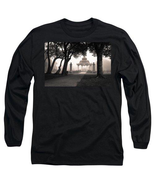 Foggy Tower Grove Long Sleeve T-Shirt